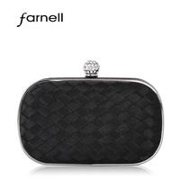 high quality banquet chain women's handbag nylon casual diamond holding bags