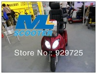 2013 New Arrivals Original Wisking 3 Wheels Electric Mobility Scooter with Luxury Chair Passed CE test