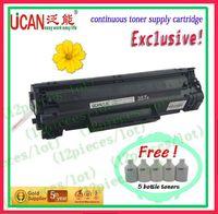 NEW! HOT! laser printer toner cartridges for HP LJ P1214  for lg toner powder ,edible ink cartridges(15000pages)