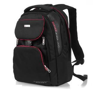 Backpack outsourcing 14 laptop bag travel backpack street casual bag male Women black