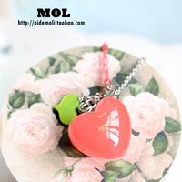 Accessories aznavour az set candy color love long necklace