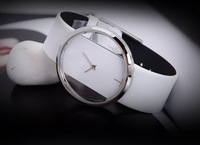 New Brand Mes's Women's Leather Band Dress Gift Fashion Quartz Wrist Watches