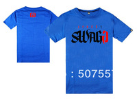 Wholesale - free shipping 2013 summer t shirt MENS HIPSTER  Street Swagg T-shirts S-XXXL  100% cotton