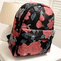 Preppy style vintage backpack bag national 2013 trend backpack fashion student school bag canvas flower women's handbag