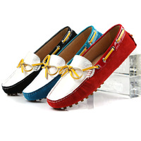 Color block decoration gommini loafers female women's fashion casual shoes scrub first layer of cowhide genuine leather