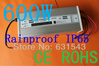 Input AC85-265V output DC24V 600W power adapter IP65 protection grade CE ROHS rain free shipping