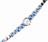 Davena inlaying crystal bracelet ladies watch shell small dial fashion table 60070