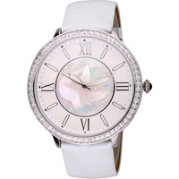 Davena lucky four leaf clover ultra-thin rhinestone ladies watch large dial strap