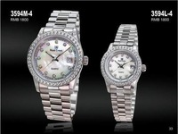 Royal crown watches mantianxing luxury rhinestone series ladies watch 3594l-4