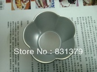 Free shipping  aluminum alloy cake moulds lotus shape cake decorating tools cake pan