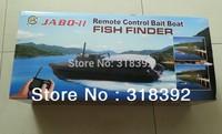 JABO-2BL-10 Remote Control Bait Boat Fish Finder And Lipo Battery -Upgrade Eiditon JABO-2B JABO-2BS Jabo 2B 2BS 2013 New boy toy