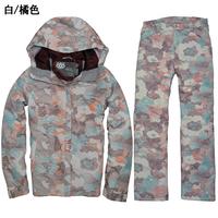 Outdoor 686 ski suit set women's windproof waterproof breathable light wear-resistant
