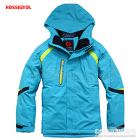 Rossignol ski suit windproof water-proof and free breathing thermal thermostat lining