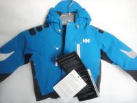 Helly hansen children's clothing ski suit blue paragraph