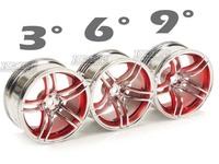 Super smart 5 plating rim racing red 9 2046 set 4pcs