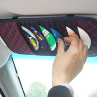 Claretred sun-shading board cd folder car cd storage bag car products