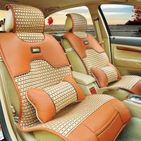 Car seat viscose cushion super-fibre leather cushion liangdian four seasons general