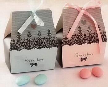 Free shipping 200pcs/lot Candy box sweet box gift box, Favour boxes,  L9.5cm * W8cm * H4.5cm,MG05
