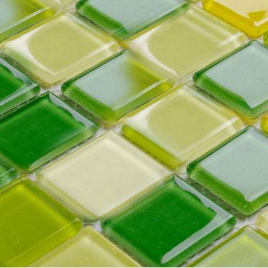 Cristal carreaux de verre dosseret de cuisine salle de - Carreaux autocollants cuisine ...