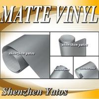 Silver Matte car decoration wrap sticker/  Air Bubbles/5M/10M/15M/20M/30M