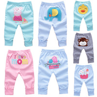 Free shipping, 9 - 24month Baby clothing, 100% cotton embroidery fashion design baby pants, kids' trousers big ass pants