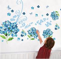 Blue Enchantress Wallpaper DIY WALL DECALS Stickers Home Deco 60x90cm,free shipping