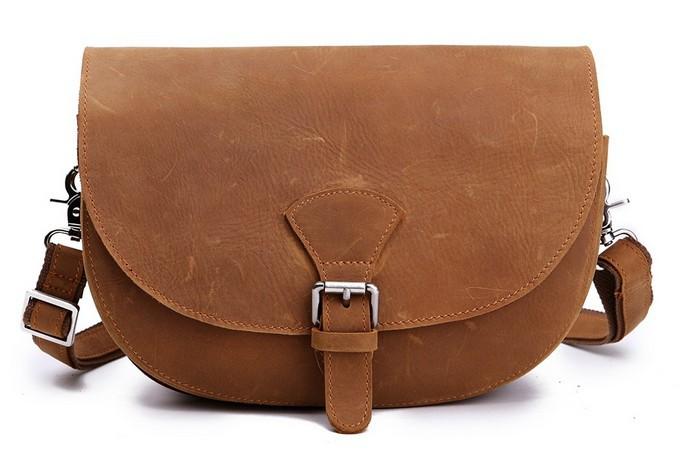 2013 New Arrival Crazy Horse Leather  Genuine Leather Shoulder Bag