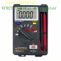 VICTOR VC921 3 3/4 DMM Integrated Personal Mini Digital Multimeter Auto Range Free Shipping