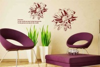 Free Shipping Wholesale--True Love Wall Sticker 10Sets/Lot The Decoration Of Home Wall Stickers Decor 120X85CM