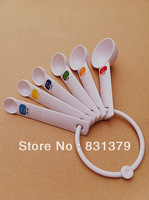 New arrival 6 piece /set measuring spoon high quality food thickening measuring spoon baking tools