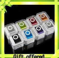 Fashoin Mini Clip USB MP3 Music Media Player Support Micro SD TF Card