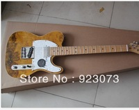 customized OEM guitar /Fendi TELE special grain electric guitar to color can be customized