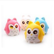 Cute owl storage tanks owl shape money coin bank piggy bank/money-box/saving box free shipping