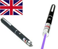 Professional Powerful Blue Purple Laser Lazer Pointer Pen 1mW