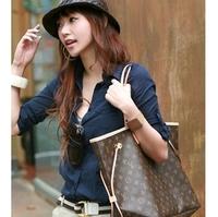 New Fashion Wholesale Women Shoulder bag New Hot Popular Retro Handbag Fashion Woven Belt Handle free shipping