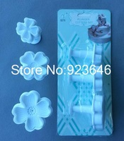 new style four-leaf clover embossing mold cookie mold biscuit mold cake mold fondant tool free shipping