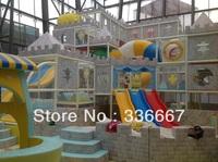 Child indoor playground happy castle indoor toy ball pool trampoline amusement equipment