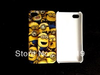 2013 NEW Despicable Me hard white case cover for iphone 4 4G 4S +free shipping   AB004