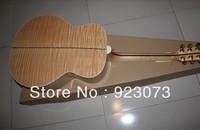 customized OEM guitar /New folk SJ200NA 43 inches acoustic guitar + fishman pick-up SJ200  electric box guitar