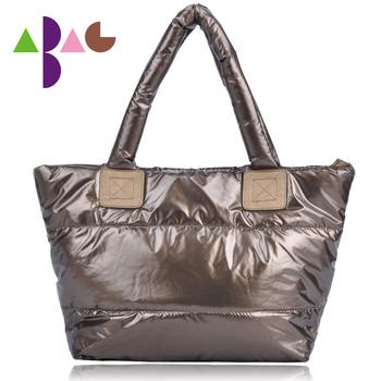 Vintage fashion 2012 women's handbag down coat bag space bag handbag