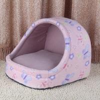 Unpick and wash the dog kennel pet nest cat litter belt mat pad teddy vip bichon dog