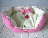 Pet kennel series high quality berber fleece pet nest pink
