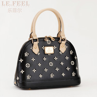 Phil clubzed 2013 the trend one shoulder handbag women's handbag embroidery shell bag bags