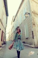 Free Shipping 2013 spring and autumn fashion vintage plus cotton slim leather clothing female