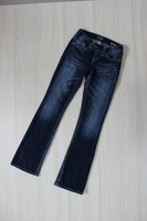 Exporting Stock Silver jeans women's water wash light color jeans