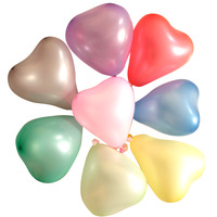 latex balloons Small heart balloons happy birthday decoration wedding arch 50pcs/lot
