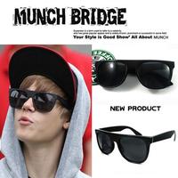 Fashion sunglasses justin bieber vintage big black sunglasses sun glasses