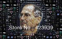 """01 steve-jobs-apple 24""""*38"""" Poster"""