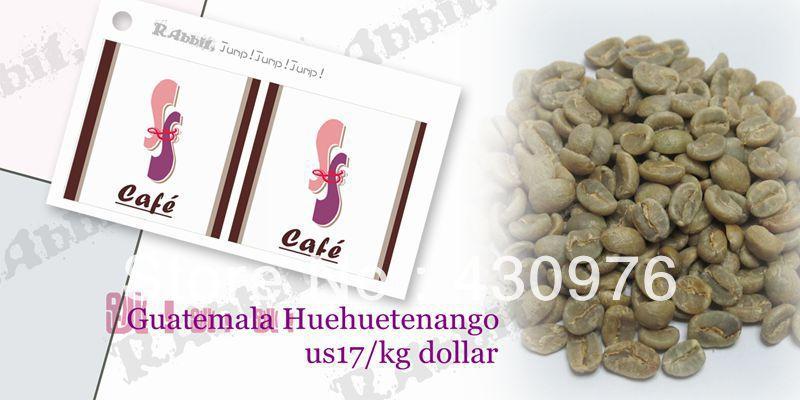S S Cafe Guatemala Huehuetenango green coffee bean 2lb coco flavor