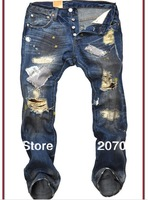free shipping Hot sale ! 2013 New Arrival Newly Style famous brand Cotton Men's Jeans pants